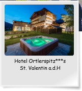 Hotel Ortlerspitz***s St. Valentin a.d.H