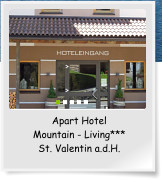 Apart Hotel Mountain - Living*** St. Valentin a.d.H.